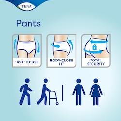 TENA Pants – sigurne i lake za upotrebu