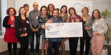 Foto ganadores A Pasión de Asistir 2017