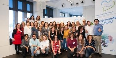 Foto de familia de los asistentes al evento Pasión de Asistir 2017