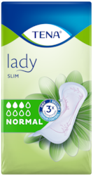 TENA Lady Slim Normal | Discreet & secure incontinence pads for women