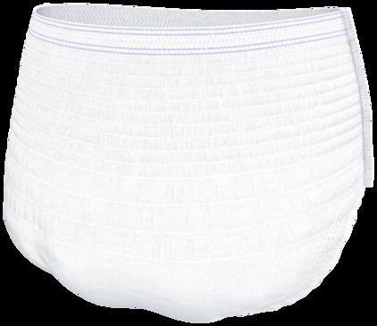 TENA Pants Night Super mit mehr Saugstärke im hinteren Bereich
