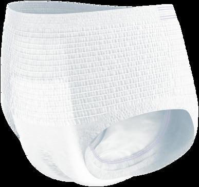 TENA ProSkin Pants Night – myke og komfortable buksebleier for urinlekkasje til bruk om natten