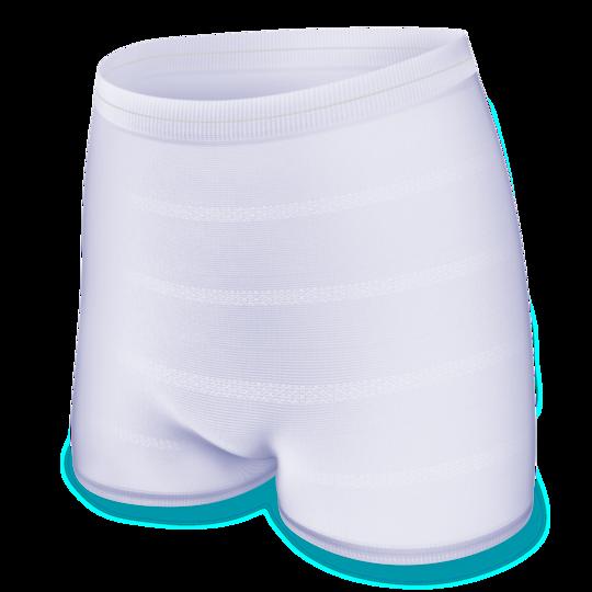 Tvättbara fixeringsbyxor utformade för personer med övervikt och klinisk övervikt