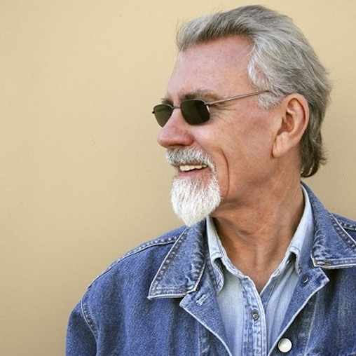 Man wearing sunglasses smiling