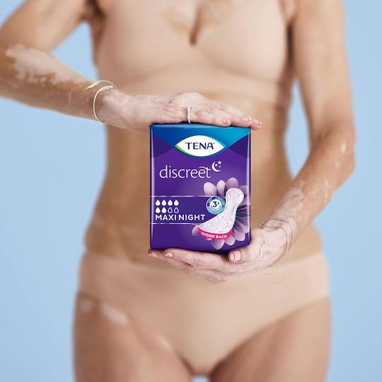 TENA Discreet Maxi Night | Inkontinenssisuoja