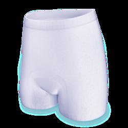 TENA Fix Cotton Special är tillverkade i bomull som både är bekvämt och snällt mot huden