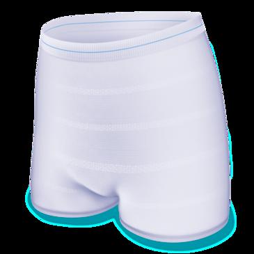 Myke og komfortable TENA Fix er en fikseringstruse som kan vaskes og brukes på nytt