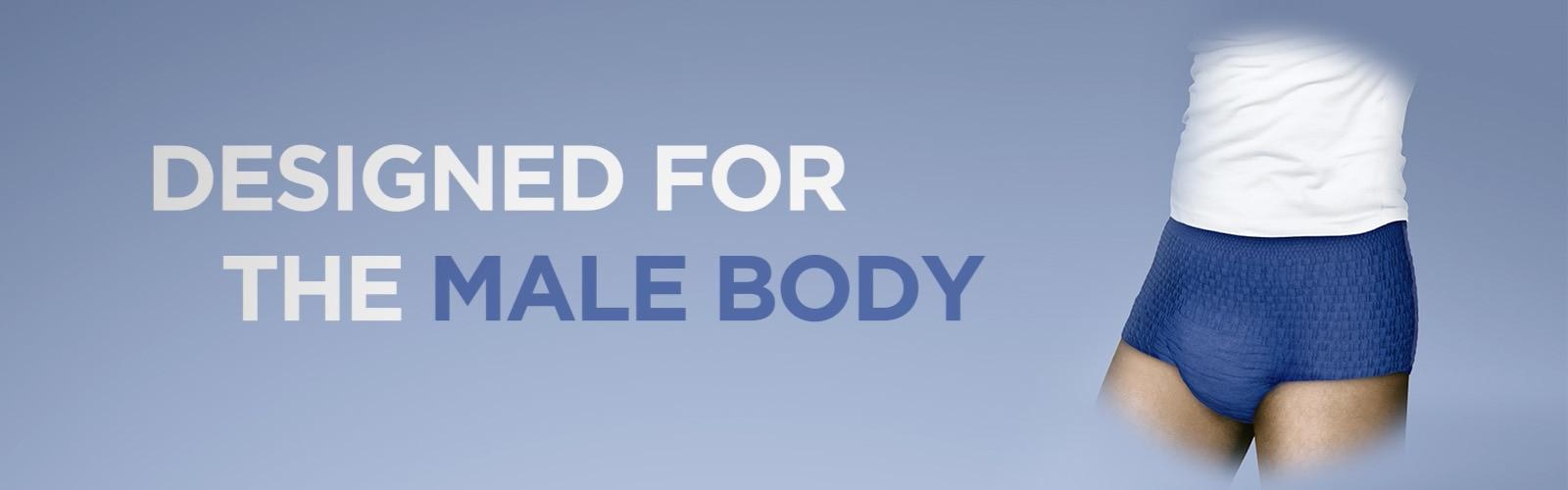 TENA Men Active Fit Pants es un producto especialmente diseñado para los hombres