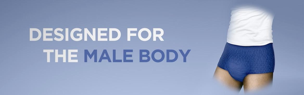 TENA Men Active Fit Pants er et produkt spesielt designet for menn