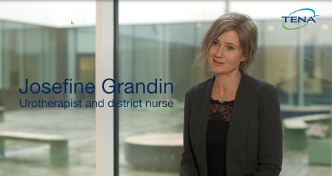 TENA Josefine Grandin, Urotherapist and District nurse