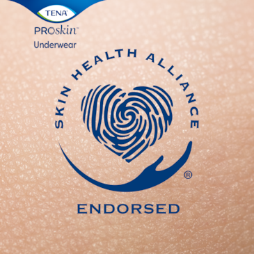 ProSkin Underwear is endorsed by Skin health Alliance