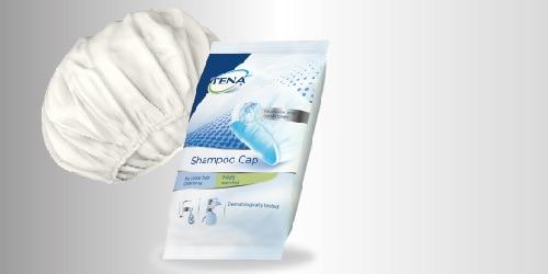 Шапочка экспресс-шампунь TENA, для мытья волос без воды