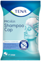 TENA ProSkin Shampoo Cap | Wash hair without water