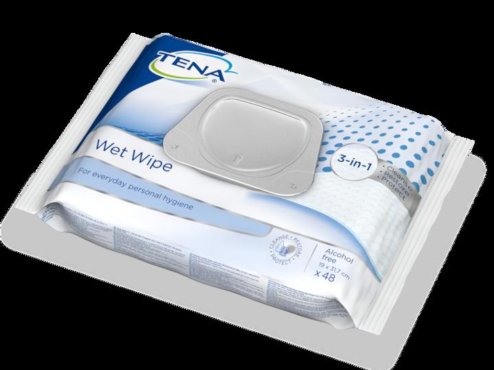 TENA Wet Wipe Plastic Lid