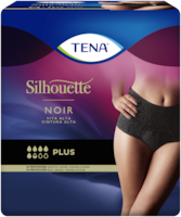 TENA Silhouette Plus Cintura Alta Noir: ropa interior para la incontinencia en un elegante color negro
