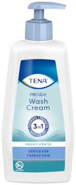 TENA ProSkin Wash Cream | For full body cleansing without water
