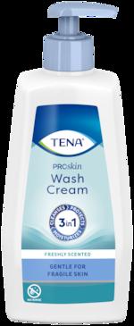 TENA ProSkin Wash Cream | For full kroppsrens uten vann