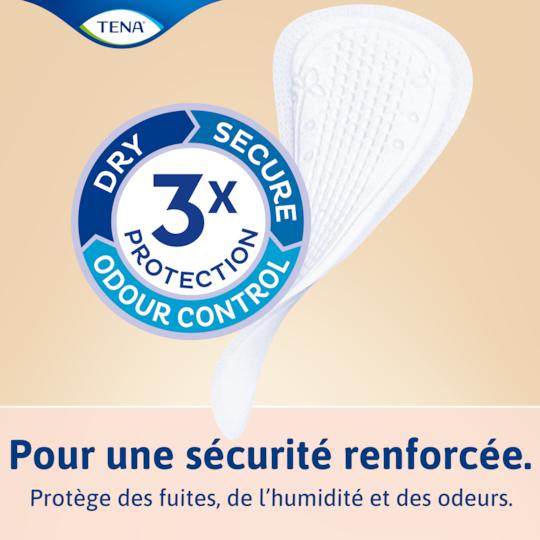 Protège-slips pour incontinence légère TENA Lights | Pour les peaux sensibles