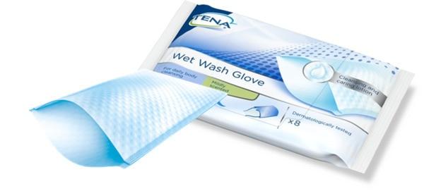 TENA Tvätthandske