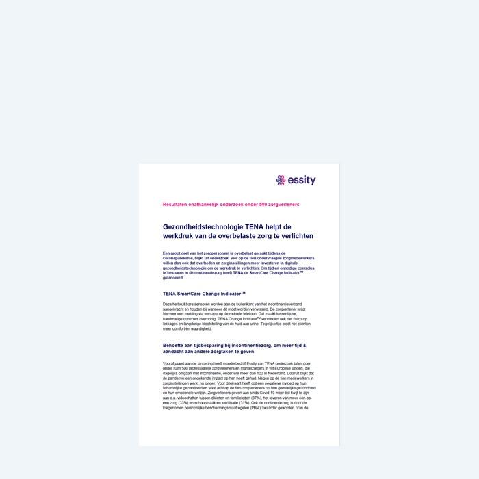 Onderzoek gezondheidstechnologie en incontinentie