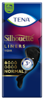 TENA Silhouette Noir Normal Liners | Black incontinence liners