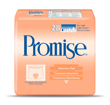 Promise® Day Light | Heavy incontinence pad