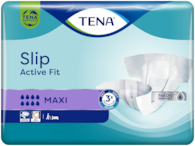 TENA Slip Plus | All-in-one incontinence adult diaper with tabs