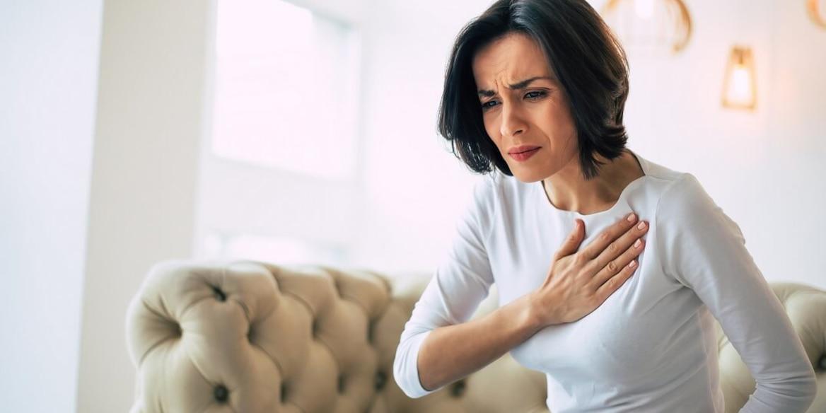 Brustschmerzen in Wechseljahren
