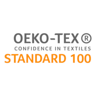 OEKO-TEX® certified and tested for harmful substances