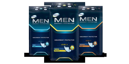 TENA Men próbacsomag rendelés
