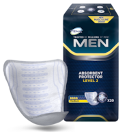 TENA Men Absorbent Protector Level 2 product and pack