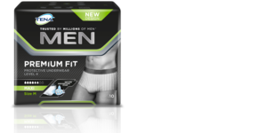 TENA Men Premium Fit packshot
