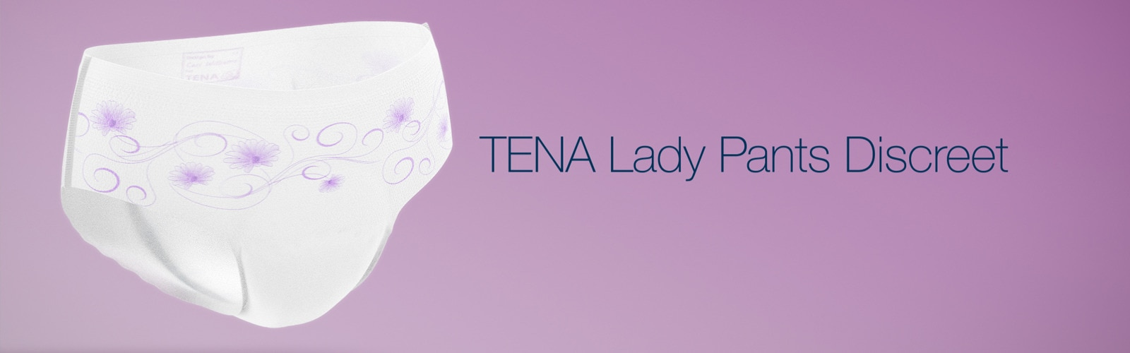 Vídeo – Novas TENA Lady Pants Discreet