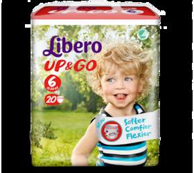 Libero UP&GO Size 6 packshot