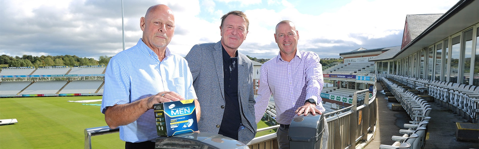 Bob White, Phil Tufnell and Tim Bostock