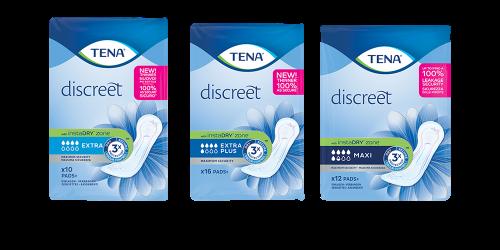 TENA Discreet Plus Einlagen