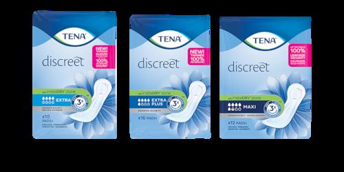 TENA Discreet Pads+