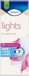 TENA Lights Long Incontinence Liner | For Sensitive skin