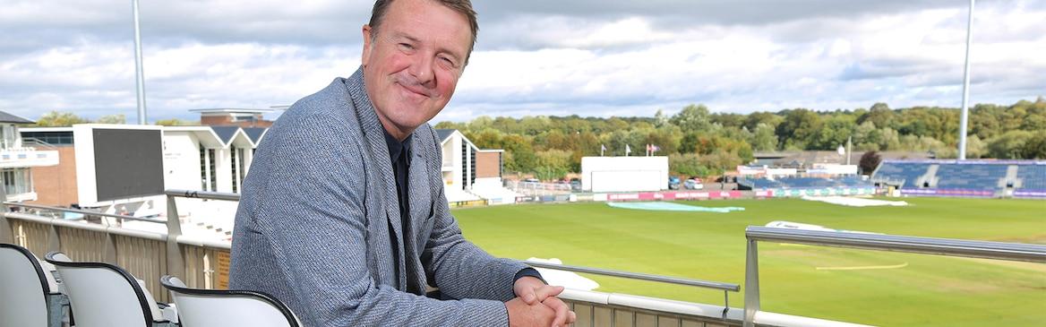 Phil Tufnell At Durham CCC