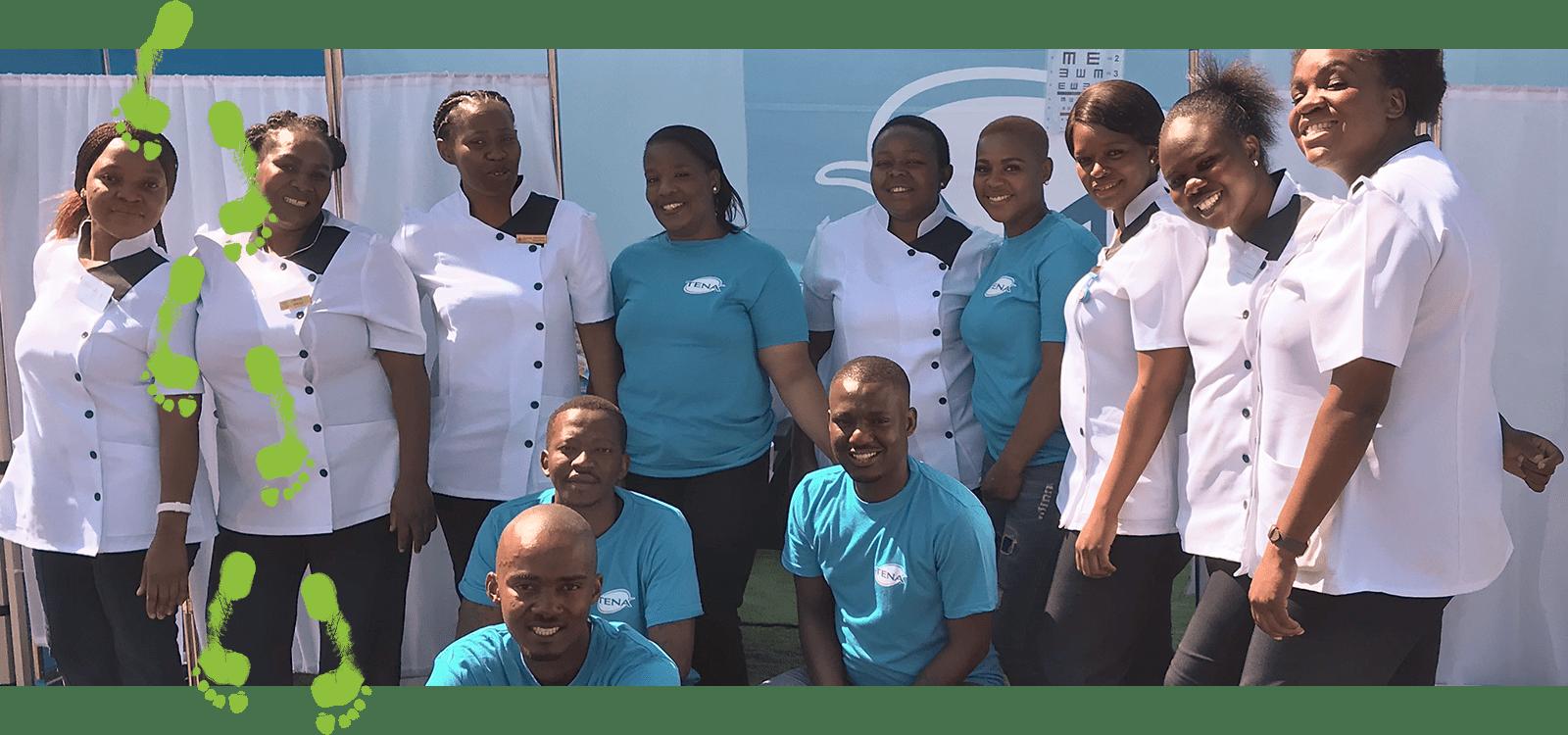 Banakekele'deki TENA ekibi