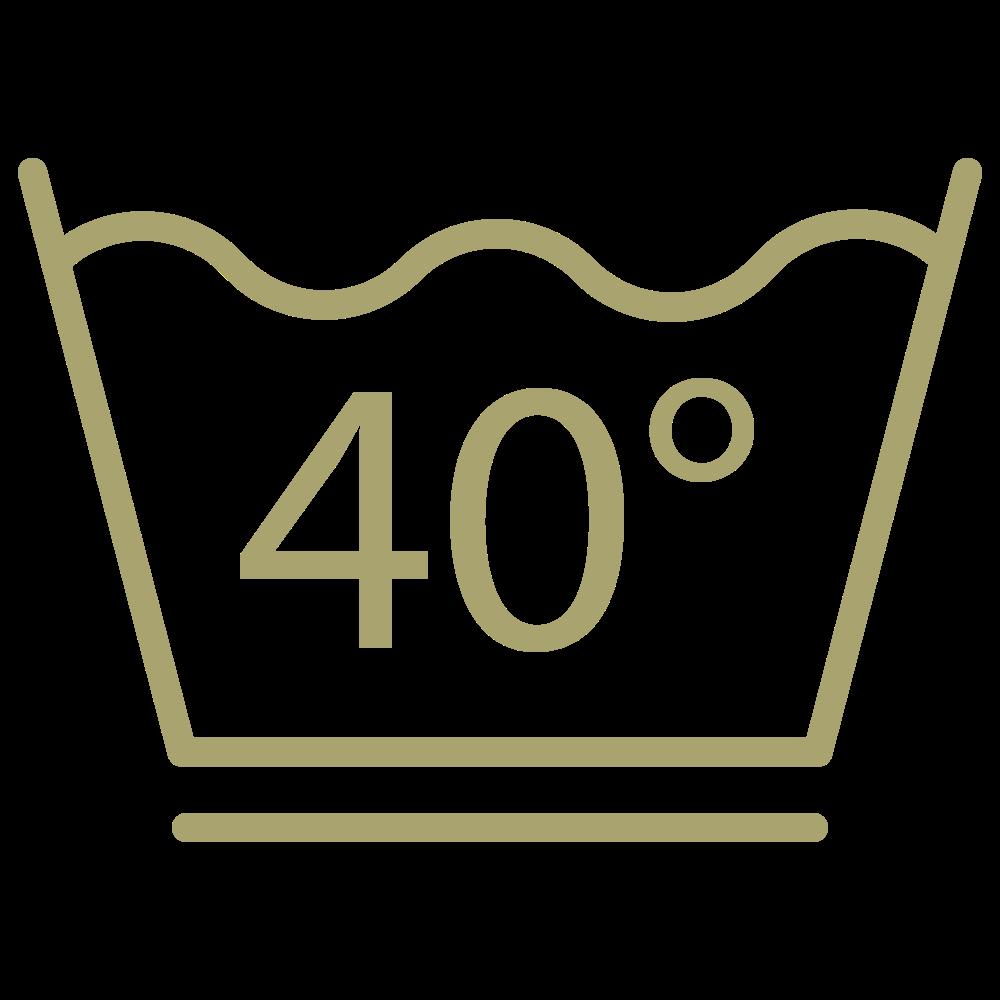 50lavages à 40°C. Facile à porter, facile à laver.