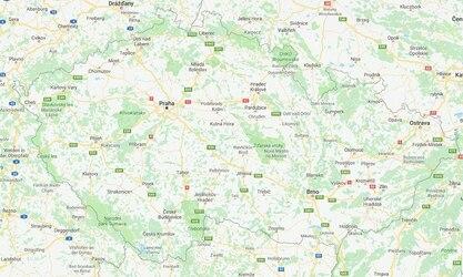 Mapa České republiky - Kde koupíte produkty TENA