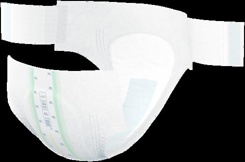 TENA Slip Bariatric Super ProSkin avec élastiques latéraux extensibles et attaches réajustables pour un ajustement optimal