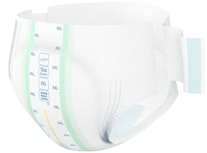 TENA ProSkin Slip Bariatric Super incontinence product for obese or overweight people