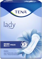 TENA Discreet Maxi | Protection absorbante féminine avec absorption instantanée