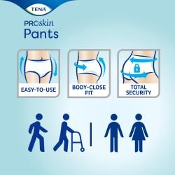 Подгузники-трусы TENA Pants Normal— надежные и удобные в использовании