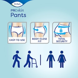 TENA Pants ProSkin– Sicher und einfach in der Anwendung