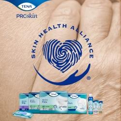 TENA ProSkin – imukykyiset inkontinenssituotteet ovat Skin Health Alliancen hyväksymiä