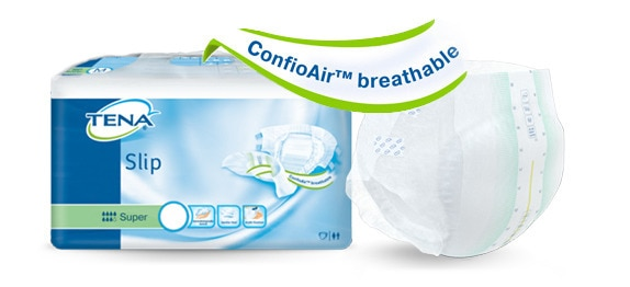 TENA Comfort technologieConfioAir™