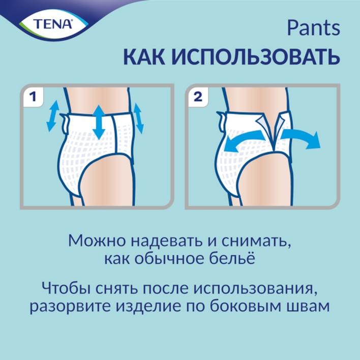 Применение и утилизация белья при недержании TENA ProSkin